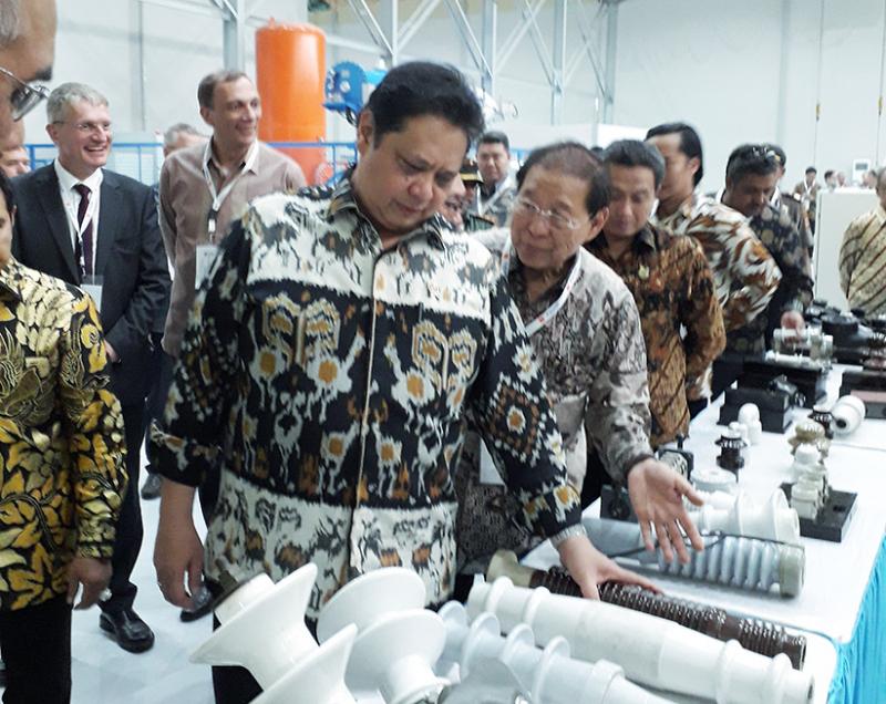 Perkuat Industri Kelistrikan,Twink Indonesia Gandeng Siemens Resmikan Pabrik Tegangan Tinggi