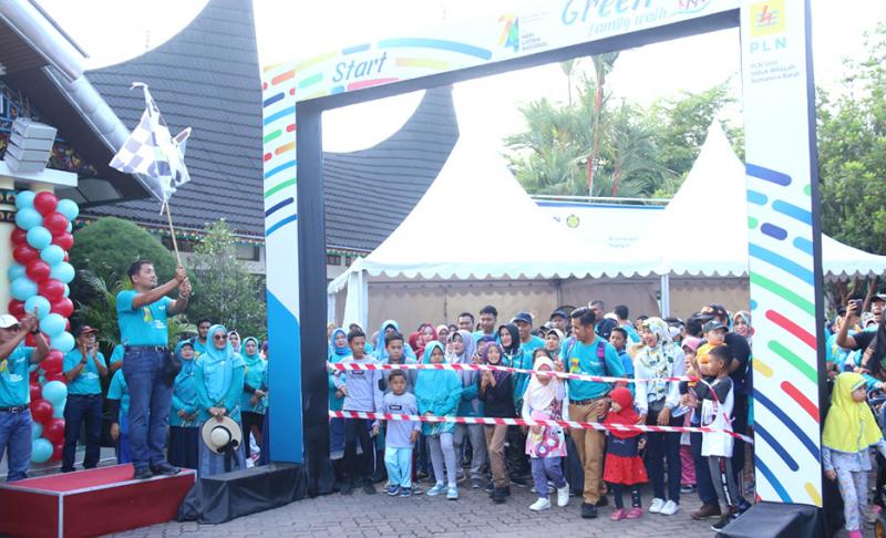 PLN UIW Padang Gelar Green Funwalk