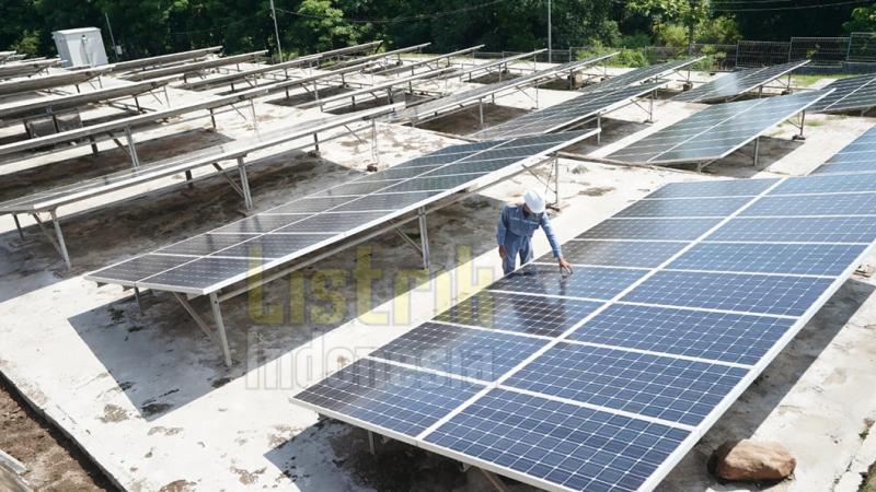 Tingkatkan Bauran Energi Tiga Pulau Wisata Lombok Gunakan PLTS