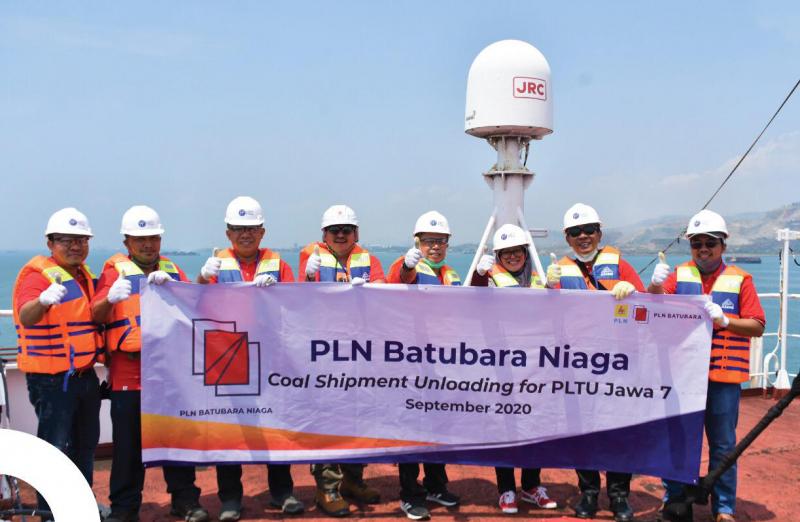 Photo of PLN Batubara Niaga Kirim Perdana Batu Bara ke PLTU Jawa-7