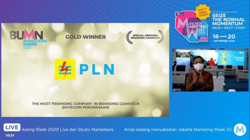 Photo of Hebat! PLN Raih 3 Penghargaan di Ajang BUMN Marketeers Award 2020