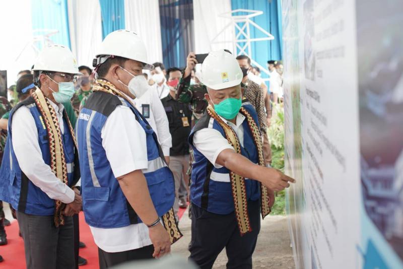 Photo of Resmikan 5 Gardu Induk, PLN Perkuat Pasokan Listrik di Lampung