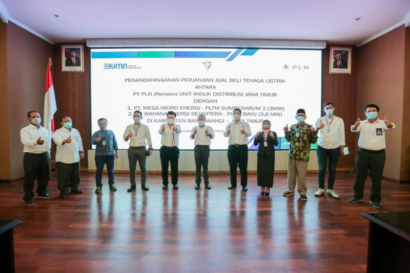 Photo of PLN Teken Perjanjian Jual Beli Tenaga Listrik Dua PLTMH di Jatim