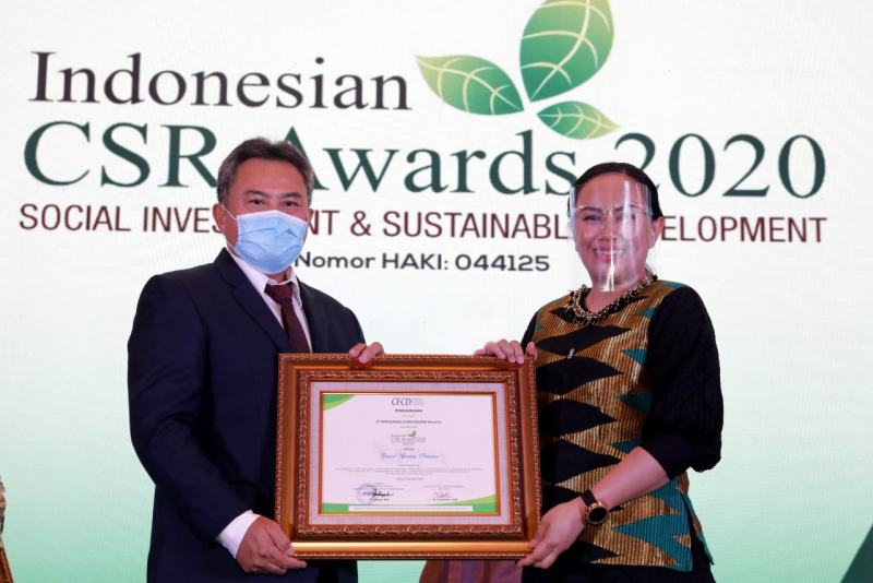 Photo of PLN Raih 10 Penghargaan Indonesia CSR Award 2020