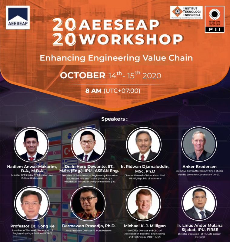 Photo of AEESEAP Workshop 2020: Enhancing Engineering Value Chain