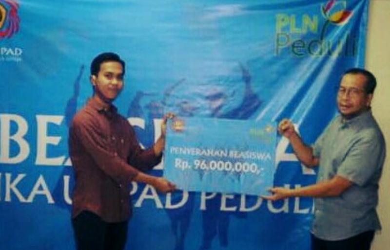 Photo of Beasiswa Dari PLN Peduli dan IKA Unpad
