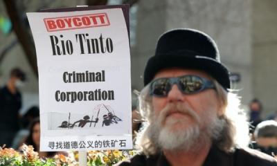 Photo of Dua Direktur Rio Tinto Mundur Akibat Ledakkan Situs Aborigin