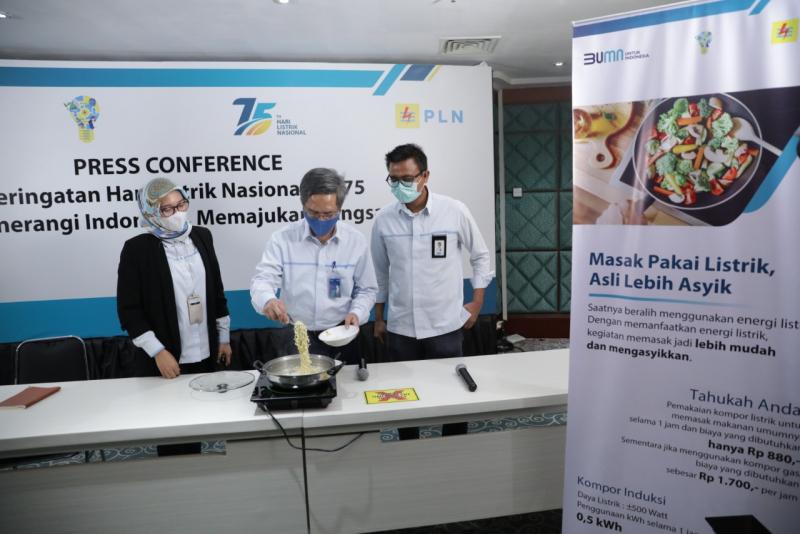 Photo of PLN Luncurkan Gerakan Satu Juta Kompor Induksi