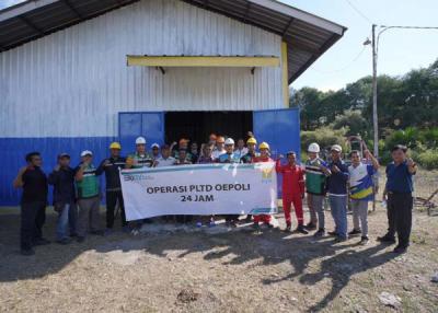 Kerja Keras PLN, Kini Masyakarat Perbatasan NTT-Timor Leste Nikmati Listrik 24 Jam