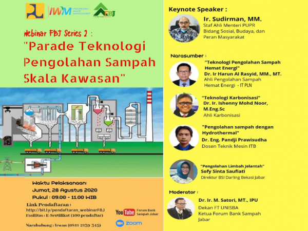 Photo of Mesin Zero Waste Dikenalkan di Parade Teknologi Pengolahan Sampah