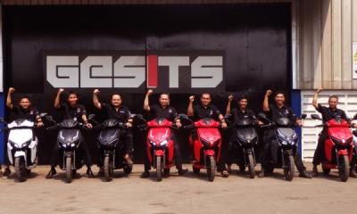 Photo of Motor Listrik Gesits Jadi Pemain Utama di Rumah Sendiri