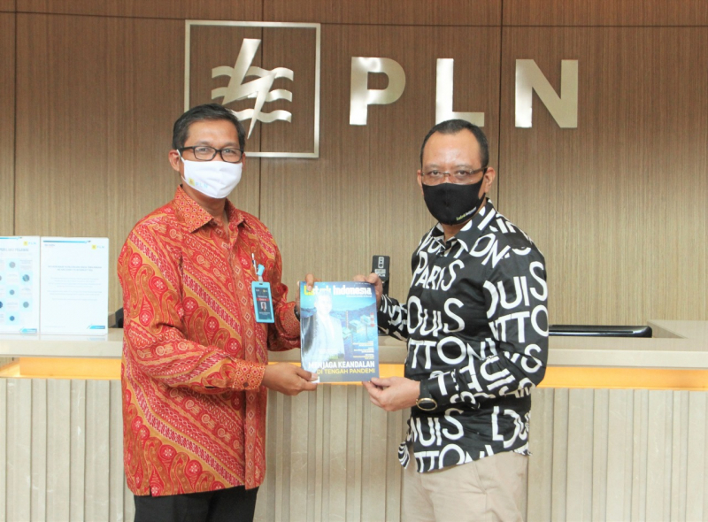 Direksi PLN Sambut Majalah Listrik Indonesia Edisi 73