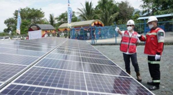 Indika Energy Bangun PLTS Untuk Perumahan  di Kaltim