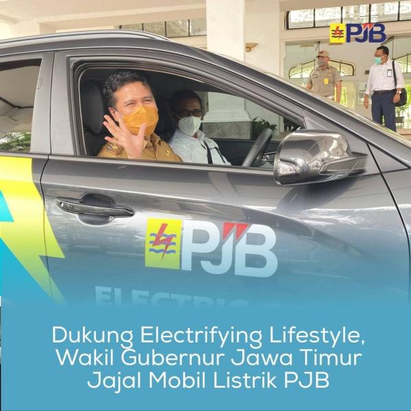 Kampanyekan Electrifying Lifestyle, PJB Diapresiasi Pemprov Jatim