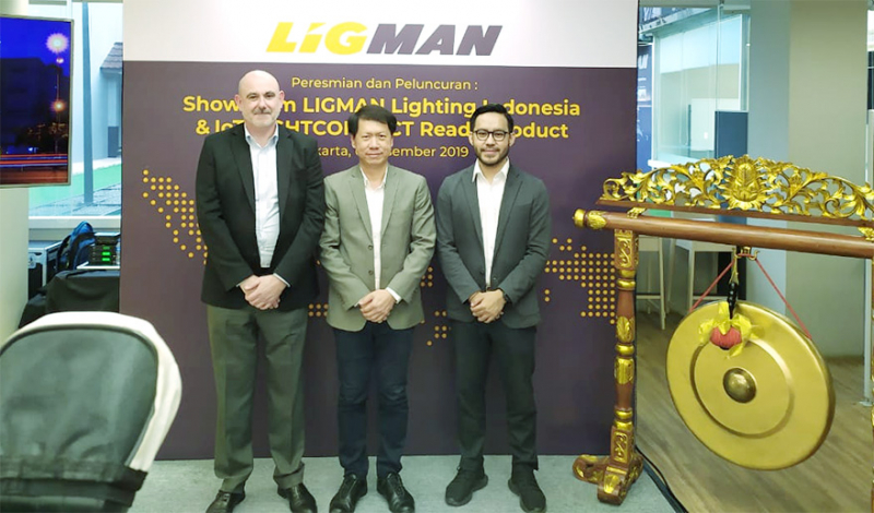 Ligman Launching Flagship Store Pertamanya di Indonesia