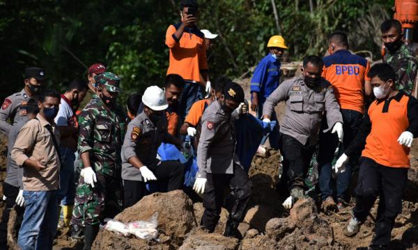 Longsor PLTA Batang Toru, 10 Korban Tewas Dievakuasi