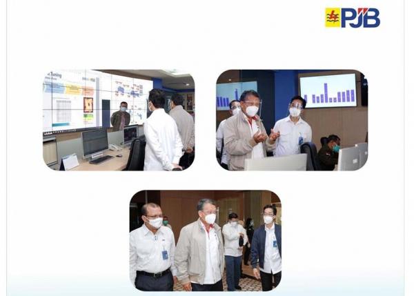 Menteri ESDM RI dan Dirut PLN Apresiasi Digitalisasi Pembangkit Terbaik dari PJB
