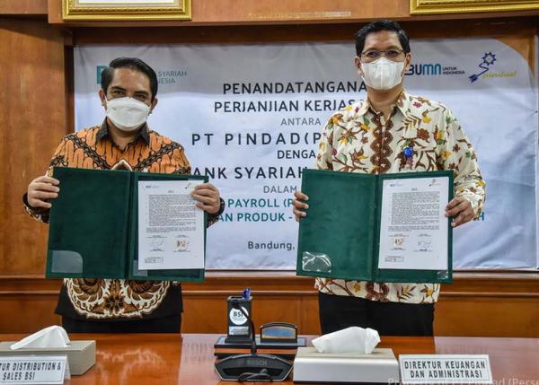 Pindad Tandatangani Perjanjian Kerjasama dengan BSI