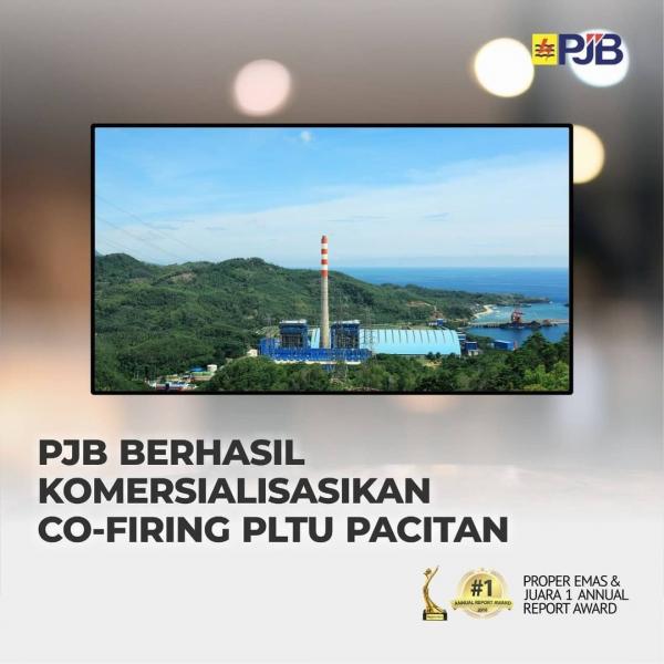 PJB Sukses Komersialisasikan Co-Firing PLTU Pacitan
