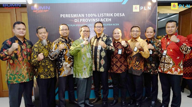 PLN Berhasil Capai 100 Persen Desa Berlistrik di Provinsi Aceh