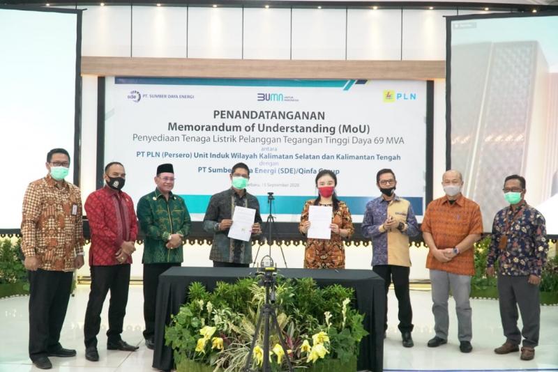 PLN Pasok Listrik 69 MVA Untuk Investor Baru di Kalimantan Selatan
