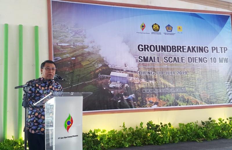 PLTP Small Scale Dieng 10 MW Ditargetkan Beroperasi 2020