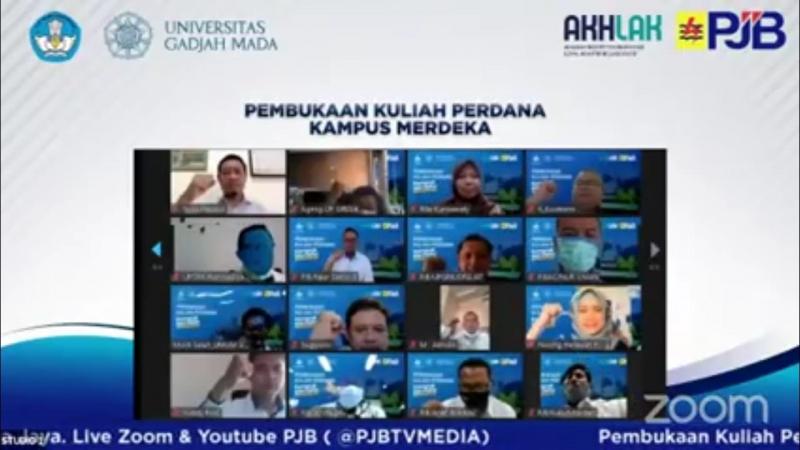 PT PJB dan Universitas Gadjah Mada Pionir Pelaksanaan Program Kampus Merdeka