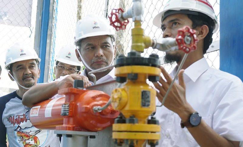 Satu Dekade, 400 Ribuan Rumah Tangga Nikmati Aliran Gas