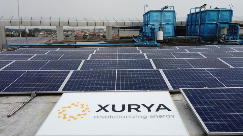Solar Panel Xurya Makin Diminati Pelaku Industri di Luar Pulau Jawa