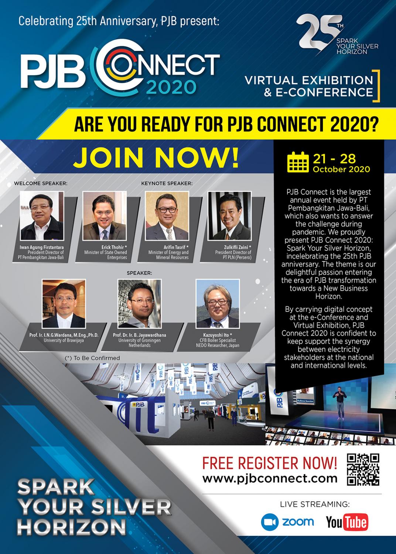 Sudah Siap Untuk PJB Connect 2020?