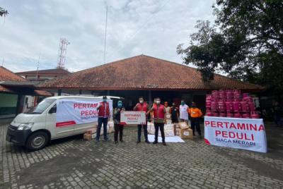 Photo of Pertamina Peduli Salurkan Bantuan Siaga Merapi di Magelang