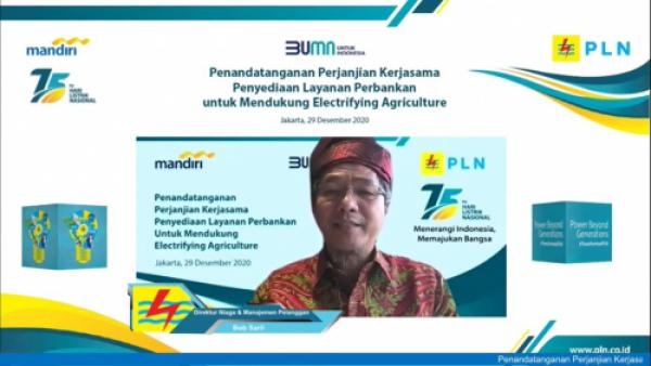 Photo of PLN-Bank Mandiri Sinergi Dorong Electrifying Agriculture