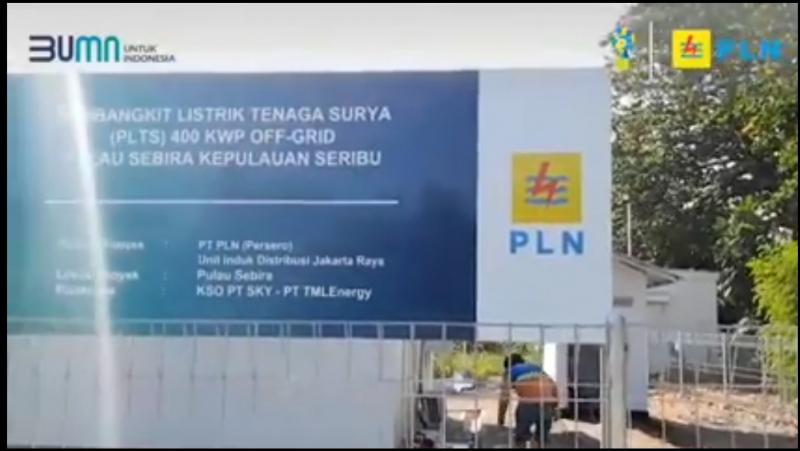 Photo of PLTS Pulau Sabira Segera Dioperasikan