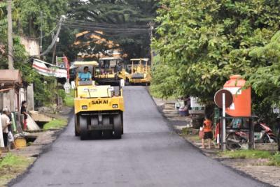 Photo of PT BA Lakukan Pengaspalan 4,75 Kilometer Jalan di Tanjung Enim