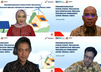 Photo of Tekad Pertamina Dorong Transisi Energi Mulai dari Halaman Sendiri