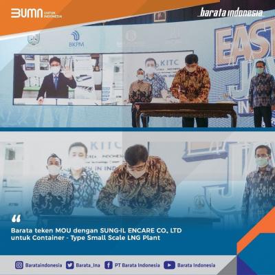 Photo of Tingkatkan Produksi LNG, Barata Indonesia Gandeng Korsel Bangun Pabrik