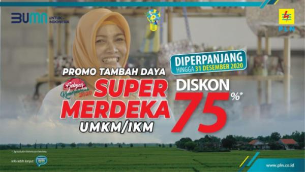 Photo of UPDATE: 63 Ribu Lebih UMKM dan IKM Manfaatkan Diskon Tambah Daya Listrik